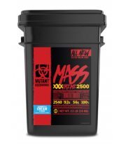 Mutant Mass Xxxtreme 2500 Cubeta de Mutant 22 Lbs