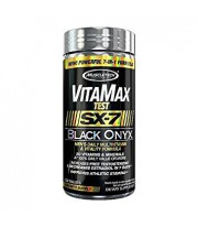 Vitamax Test Black Onyx SX7 de Muscletech 120 caps