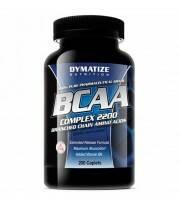 BCAA Complex 200 Caps Aminoácidos Dymatize