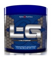 L glutamina 500gr de Alpha Nutrition