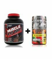 Muscle Infusion Black 5lbs + AK47 Pre entreno y Quemador