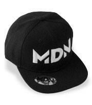 Gorra Negra de MDN Original