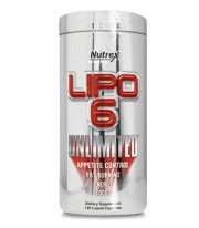 Lipo 6 Unlimited de Nutrex Original