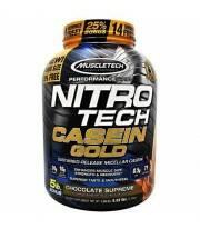 Nitro Tech Casein Gold 5 Lbs de Muscletech