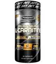 L Carnitina Platinum de Muscletech 60 caps