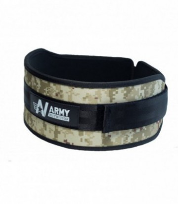 Faja de Army Nutrition Camo Verde Mediana