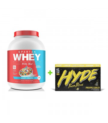 Spartan Whey + 15 Pack Mr Hyde de Prosupps RTD