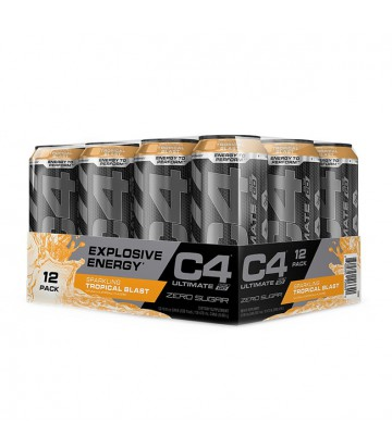 12 Pack  de C4 Ultimate RTD de Cellucor