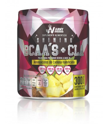 Shinning BCAAs + CLA de Army Nutrition