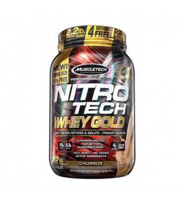 Nitrotech Whey Gold 2.2 Lbs Muscletech