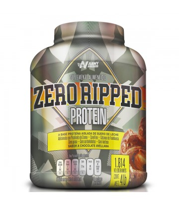 Zero Ripped Protein 4lbs de Army Nutrition sabor Ferrero