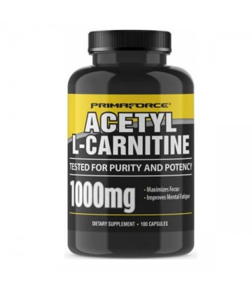 Acetyl L Carnitine 100 Caps de Primaforce