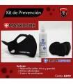 Kit Cubrebocas 5 capas reutilizable Maxima Proteccion de Bagbull