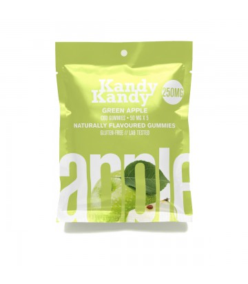 Gomitas de CBD Kandy Kandy Green Apple