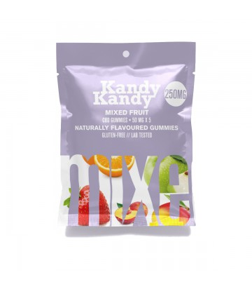 Gomitas de CBD Kandy Kandy Mixed Fruit