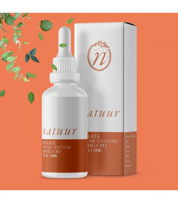 Isolate CBD 500 MG Natuur 30 ml