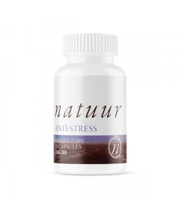 Capsulas de gel CBD Natuur Anti Stress