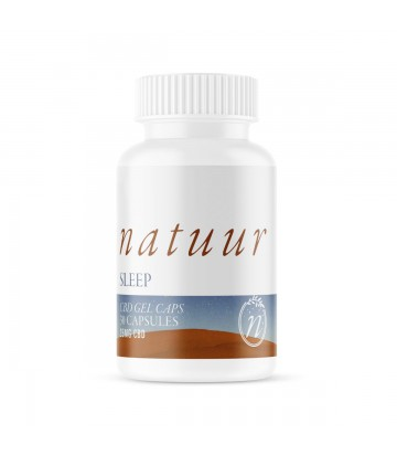 Cápsulas de gel CBD Natuur Sleep