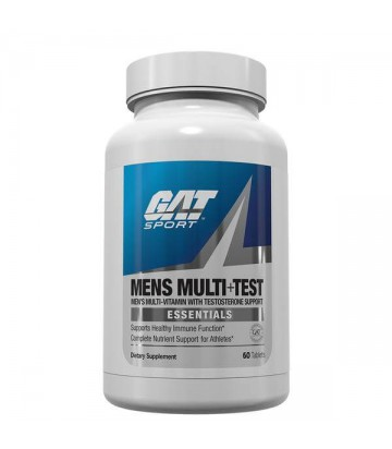 Mens Multi + Test 60 caps de Gat