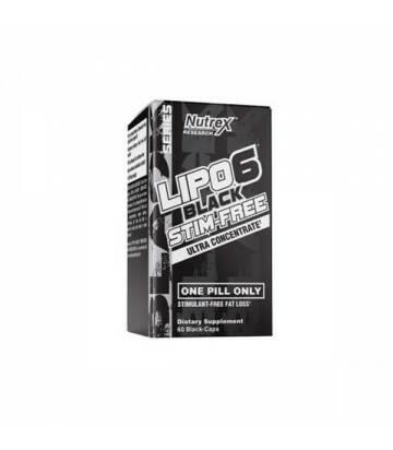 Lipo 6 Stim Free 60 capsulas de Nutrex
