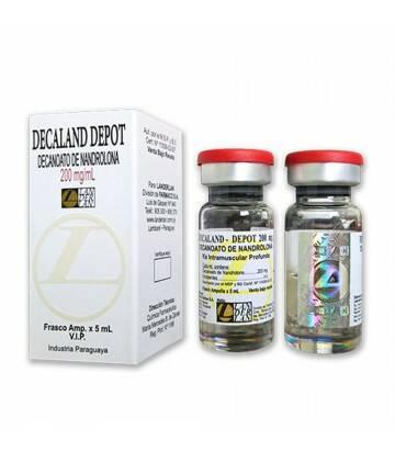 Decaland Depot Nandrolona 200mg/ml vial 5ml landerlan