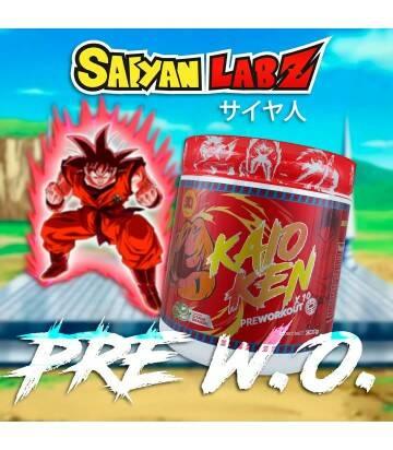 Kaio Ken Pre Entreno Dragon Ball