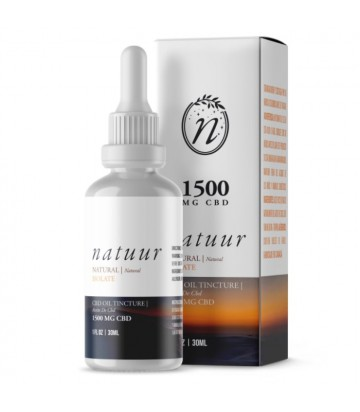 Natuur Natural Isolate Aceite De Cbd 1500 Mg 30ml Natural