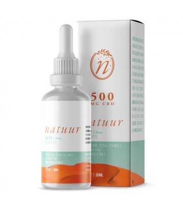 Natuur Isolate Aceite De Cbd 500 Mg 30ml Menta