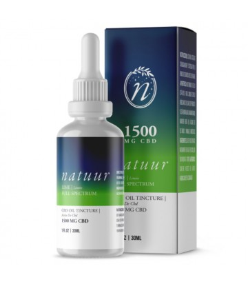 Natuur Full Spectrum Aceite De Cbd 1500 Mg 30ml Limón
