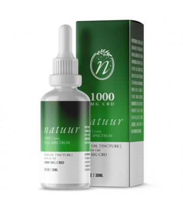 Natuur Full Spectrum Aceite De Cbd 1 000 Mg 30ml Limón