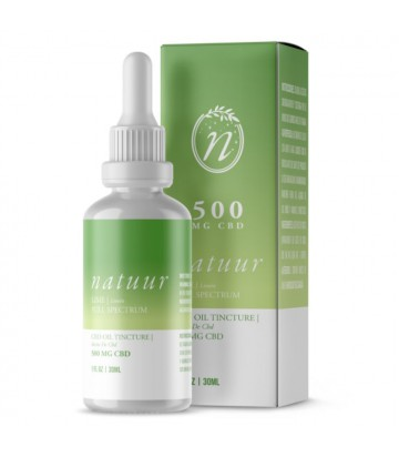 Natuur Full Spectrum Aceite De Cbd 500 Mg 30ml Limón