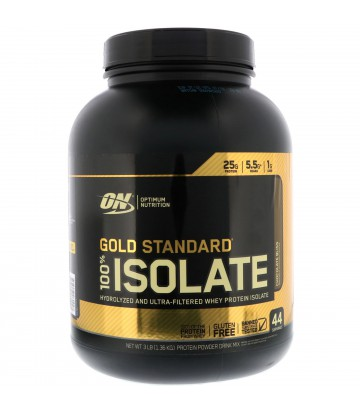 100% Gold Standard Isolate 5lbs