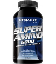 Super Amino 6000mg. 500 Tab Aminoácidos Dymatize