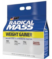 Radical Mass 10lbs Gainer de Gat