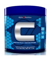 CREATINA 100% DE ALPHA NUTRITION 500GR