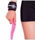 Straps para pesas PRO rosas de Neosports