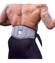 Faja Cinturon Anatómico para Pesas Gris L de Neosports