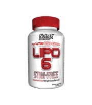 Lipo 6 Fast Acting 120 Caps Nutrex