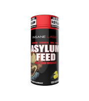 Asylum feed 120 caps creatina con HMB