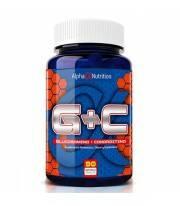 Glucosamina + Coindroitina ultra puras alpha nutrition